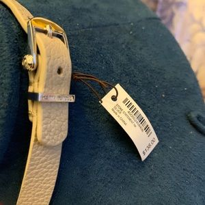 henri bendel Jewelry - Henri Bendel Stone statement necklace leather NWT